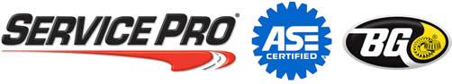 Service Pro, ASE, BG parts