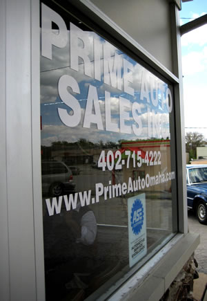 Prime Auto Omaha technicians are ASE certified.